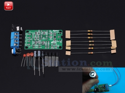 White Noise Signal Generator DIY Kit DC 12V Electronic Kit 2-Channel Output