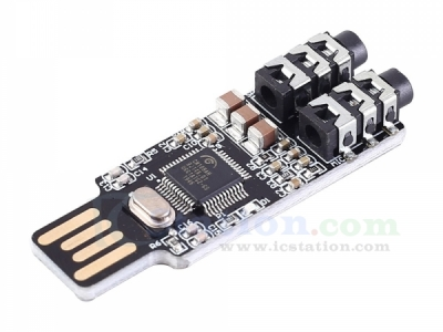 CM108 USB External Sound Card Free Driver Voice Playback Module for Headset
