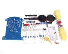 DIY Kits D2-3 Tracking Obstacle Avoidance Smart Car DIY Module Infrared Tracking Car STC15W201S