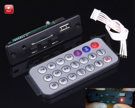 5-12V Mini MP3 Decoder Board Module Support USB/SD/MMC Card with Infrared Remote Control