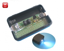 FLA-1 Simple DIY Flashlight Kit DIY Light Lamp Module Mini Flashlight 1.5V 55x35x11.5mm DIY Kits Electronic Components
