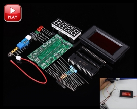 AMM-TE ICL7107 4 Digits Segments Digital Display Ammeter Kit DIY Module DC 5V 35mA DIY Kits