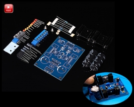 LM337T Linear Adjustable Filter Stabilivolt Power Supply Board Module Kits DIY Kits 5-40V