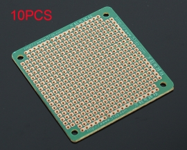10PCS 6*6cm Green Universal Board Single Side Experiment Board Prototype DIY PCB Board