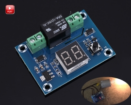 XH-M662 DC12V Digital Timer Switch Countdown Timer Module 5-60min or 1-24hours Automatic Controller