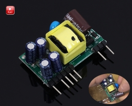 AC to DC Converter Dual Channel Step Down Power Supply Board Module AC 85V-265V to DC 5V/12V