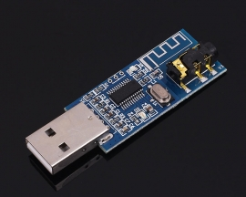 USB 5V Bluetooth 4.0 Audio Receiver Module Long Distance Wireless Receiver Board Transmission Distance 20m
