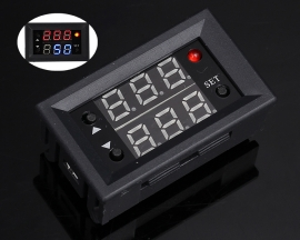 Dual Channel Signal Generator 1Hz-160KHz PWM Frequency Duty Cycle Complimentary Adjustable Module LED Display