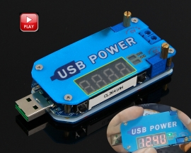 DC-DC 15W Adjustable USB Step Up Down Power Supply Module CVCC Buck Boost Voltage Converter with Shell