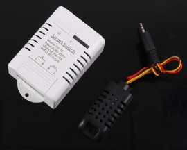 AM2301 Temperature Humidity Monitor IoT 16A Wireless WIFI Intelligent Control Switch AC 85V-250V