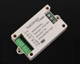 2-Channel 2.4G IoT Wireless WIFI Intelligent Control Switch AC 85V-265V 10A Relay Module with Remote Control