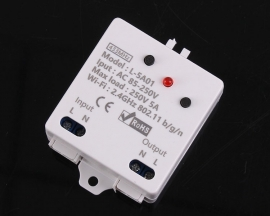 1 Channel 2.4G IoT Controller Wireless WIFI Control Relay Module 5A AC 85V-265V Support RF Remote Control