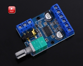 High-Power Stereo Digital Power Amplifier Board 12V 24V 30W+30W