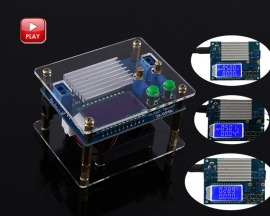 60W High-Power Adjustable Buck-Boost Power Supply Module Step Up Down Converter LCD Display