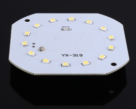 Microwave Radar Sensor Module 9W White LED Lamp Intelligent Control for Aisle Corridor