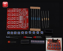 DC 5V Electric Code Lock Suite For DIY Kit Electric Teaching Experiment