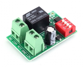 Power-ON Delay Relay Switch Module DC 12V 60s Programmable Delay Controller