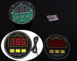 XH-W1820 DC 12V-24V Digital High Precision Temperature Controller -50~110 Celsius NTC 10K Sensor 30A Automatic Controller