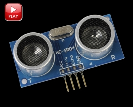 Ultrasonic Module HC-SR04 Distance Transducer Sensor for Arduino