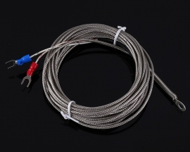 5 Meters PT100 Temperature Sensor Type-K Waterproof 0℃~800℃ Platinum Resister