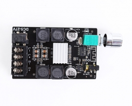 50W+50W HIFI Bluetooth Audio Stereo Module BLE5.0 TPA3116 AUX Digital Amplifier Module ZK-502C DC5-27V