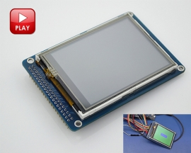 3.2 Inch Color TFT LCD Display Module Touch Screen Module with SD Card Slot for Arduino Project