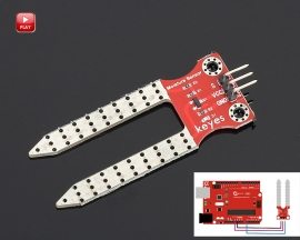 Soil Hygrometer Humidity Detection Module Moisture Sensor Water Detector Board for Arduino