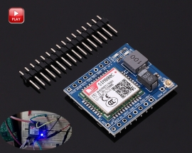SIM800C GSM GPRS Module 5V/3.3V TTL IPEX with Bluetooth and TTS for Arduino STM32 C51