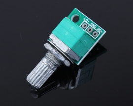 50K High-Quality Sealed Dual Connection Potentiometer Volume Adjusting Equipment