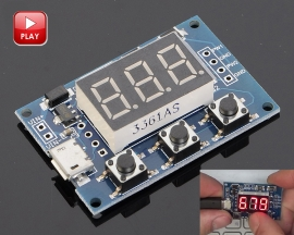 Adjustable Square Rectangle Wave Signal Generator Module 2 Channel PWM Pulse Frequency 1Hz-150KHz