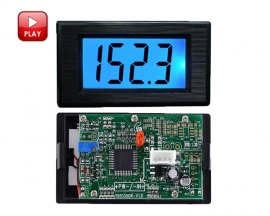 AC/DC 12V 200ohm Resistor Tester ohmmeter Low Resistance Tester Electrical Instrument LCD Display Impedance Meter