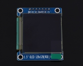 1.5inch 128x128 SPI RGB OLED Display Screen Module 65K SSD1351 Driver 128*128 3.3V Power