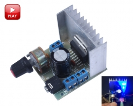 TDA7297 15W+15W Dual Channel Audio Amplifier Board