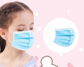 50PCS/Pack Disposable Children's Mask Anti-dust Anti-germ Anti-fog PM2.5 KP95 Protection Mask