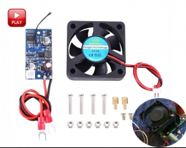 Intelligent Temperature Controller 3-Speed Automatic Control Sensor w/ 5V Fan