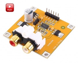 DC 5V PCM5102 DAC Decoder I2S Voice Playback Module for Raspberry Pi