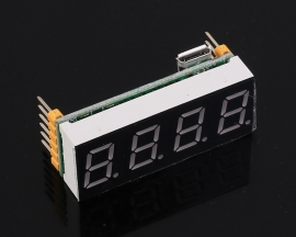 RS485 MODBUS 0.4inch 4-Bit Red Digital Tube LED Display Screen Module TTL Control for Arduino
