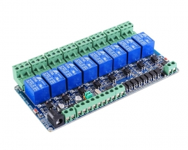 RS485 Modbus-RTU 12V 8Bit Relay Module 8-Channel Switch Controller for Arduino