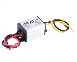 DC-DC 3A Step Down Power Supply Module IP68 Waterproof Adjustable Buck Conveter 3V-22V to 1V-15V Voltage Conveter