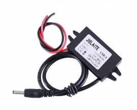 DC-DC 12V to 5V 3A Step Down Power Supply Module DC3.5*1.35mm IP68 Waterproof Adjustable Buck Voltage Conveter