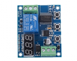 DC 12V Power-ON/OFF Trigger Delay Controller Module Adjustable Timer Cycle Delay Switch Module