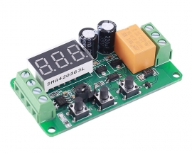 DC 12V 0-5A Current Detector Current Switch Relay Controller Module AC/DC Current Monitor LED Display Adjustable Work Mode