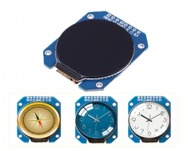 DC 3.3V 1.28inch TFT LCD Display Module Round RGB 240*240 GC9A01 Driver SPI Interface 240x240 Resolution