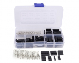 310pcs 9 Values XH2.54 Connector Case + Female Pin + Male Pin Kits TO-92 1Pin-8Pin Component Kit
