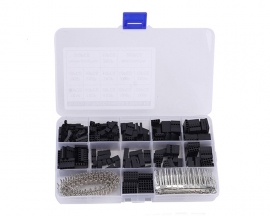 620pcs 13 Values XH2.54 Connector Case + Female Pin + Male Pin Kits TO-92 1Pin-6Pin 2Pin-6Pin*2 Component Kit