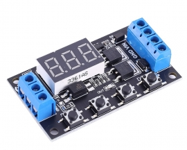 DC 5V 12V 24V Trigger Cycle Timer Delay Controller Module 15A 400W MOS Control Switch 16-Work Mode