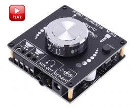 HIFI Bluetooth Audio Stereo Module BLE5.0 TPA3116D2 50W+50W USB/AUX Digital Amplifier Module