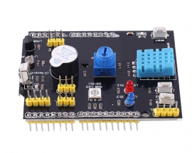 DHT11 Shield Multi-function Expansion Board LM35 Sensor Passive Buzzer Infrared Receiver