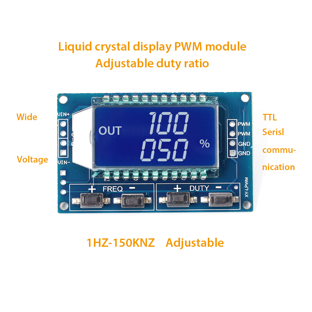Signal Generator Pwm Pulse Frequency Duty Cycle Adjustable Module Led Circuit Youtube Pin Definition
