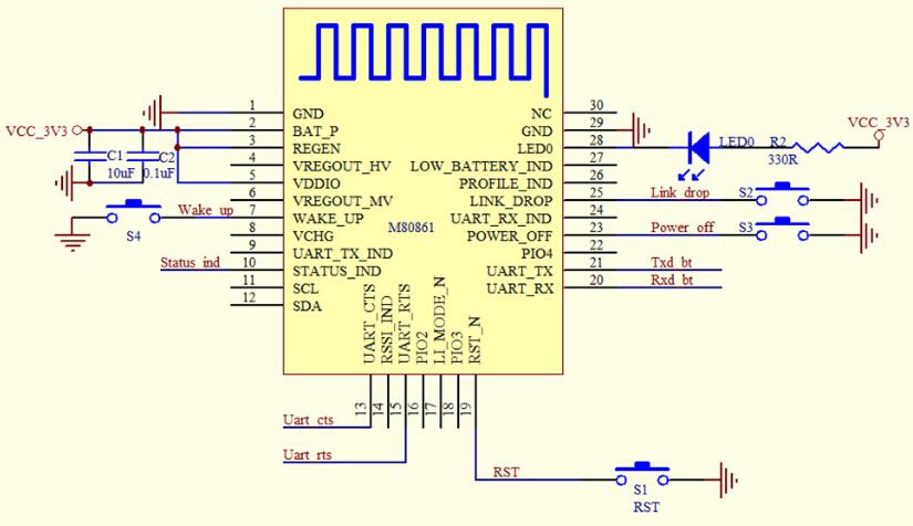 Bt12 Bluetooth Wireless Transceiver Module Ble4 0 Ios Replace Hc 05